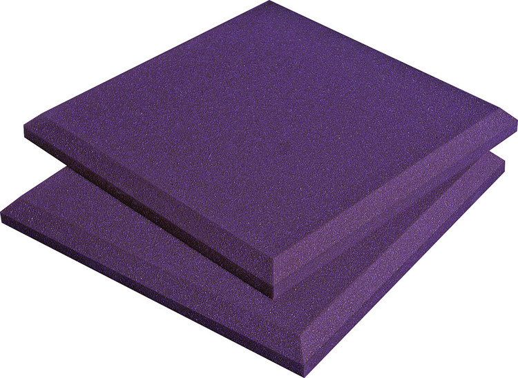 Auralex SonoFlat Panels - 2\' x 2\', Purple image 1