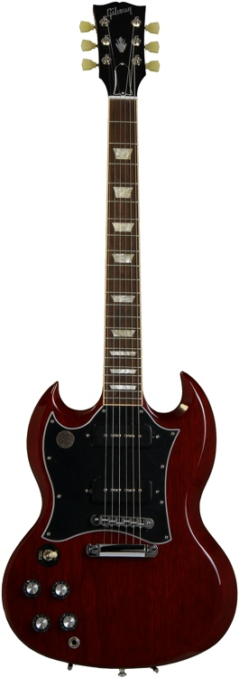 Gibson SG Standard P-90 - Heritage Cherry, Left-handed image 1