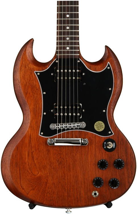 Gibson SG Special Faded 2016, Traditional - Worn Brown, Chrome Hardware image 1