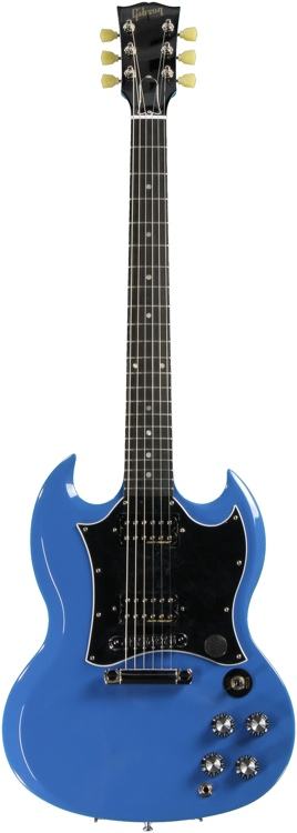 Gibson SG Special - Renault Blue image 1