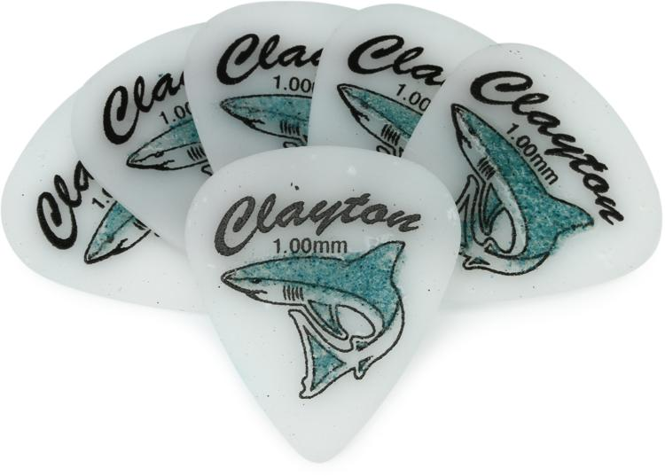 Clayton Sand Shark Picks 6-pack 1.00mm image 1