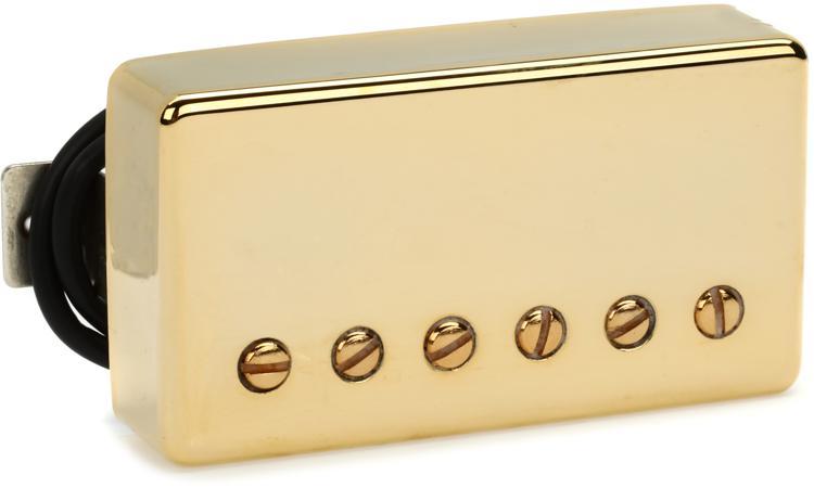 Seymour Duncan SH-1b \'59 Model 4-Conductor Pickup - Gold Bridge image 1