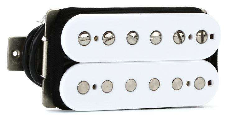 Seymour Duncan SH-1b \'59 Model 4-Conductor Pickup - White Bridge image 1