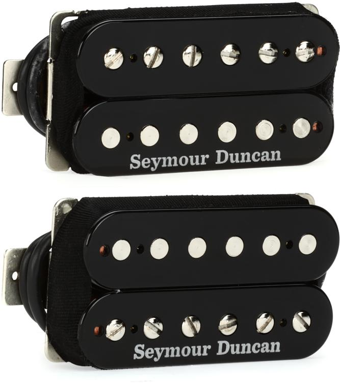 Seymour Duncan Hot Rodded Humbucker Set - SH-4 and SH-2n image 1
