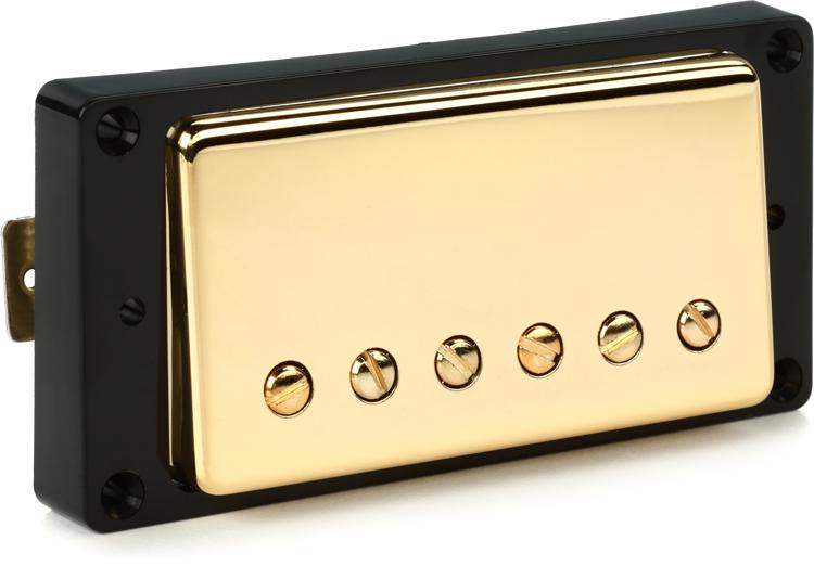 Seymour Duncan SH-55b Seth Lover 1-Conductor Pickup - Gold Bridge image 1