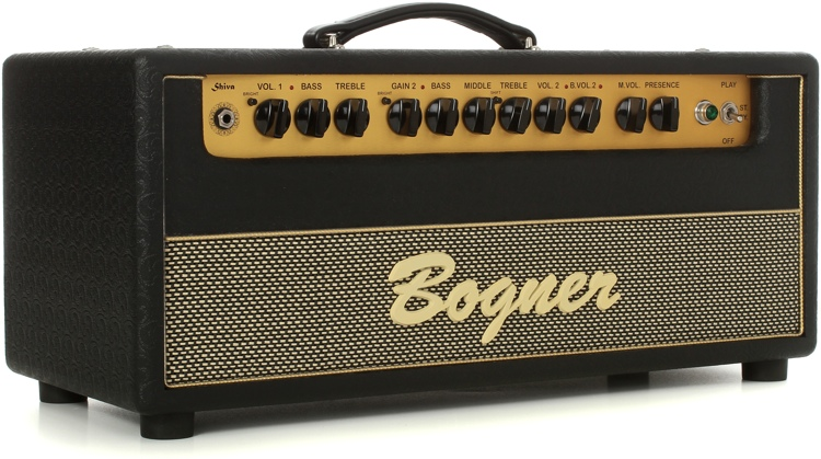 Bogner Shiva 6L6 60-watt Handwired Tube Head with 6L6 Tubes and Dual Reverb image 1
