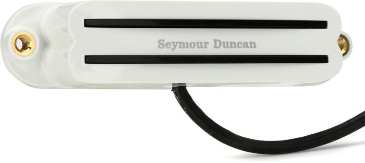 Seymour Duncan SHR-1b Hot Rails Strat Pickup - White Bridge image 1