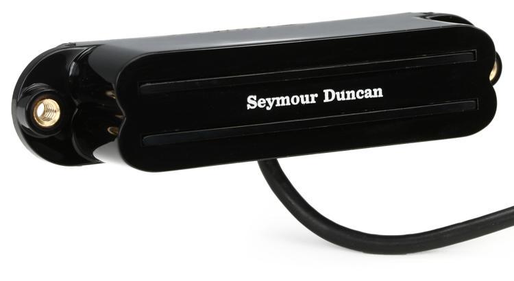 Seymour Duncan SHR-1n Hot Rails Strat Pickup - Black Neck image 1