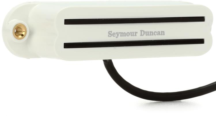 Seymour Duncan SHR-1n Hot Rails Strat Pickup - White Neck image 1