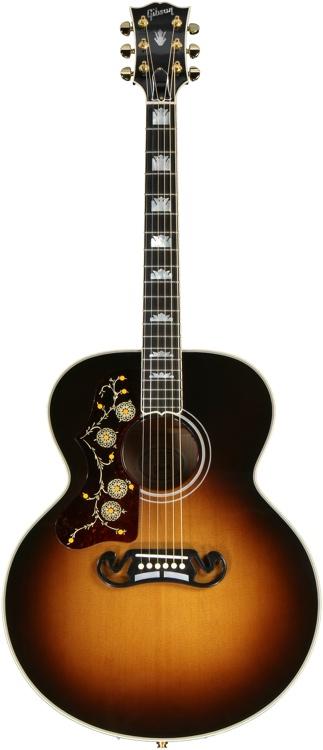 Gibson Acoustic J-200 Left Handed - Vintage Sunburst image 1