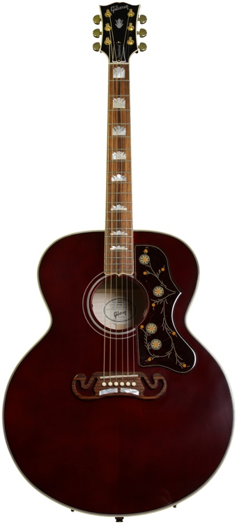 Gibson Acoustic March 2013 Limited Edition - Wine Red J-200 Standard image 1