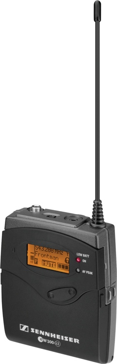 Sennheiser SK 300 G3 - G Band, 566-608 MHz image 1