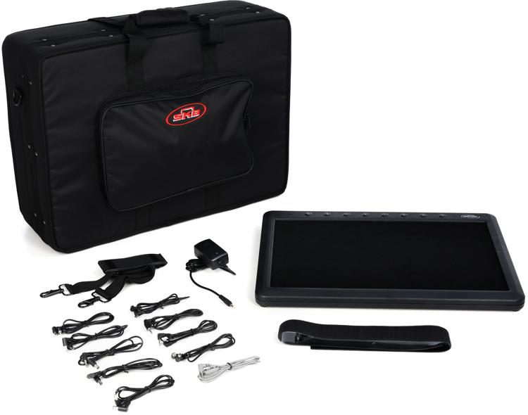 SKB SKB-PS-8PRO 8-Port Pedalboard with Carry Case image 1