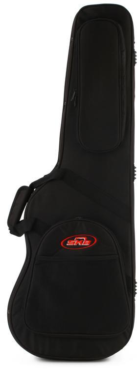 SKB SCFS6 Electric Guitar Soft Case - Black image 1