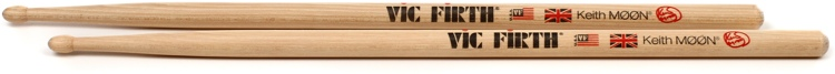 Vic Firth Signature Series Drumsticks - Keith Moon image 1