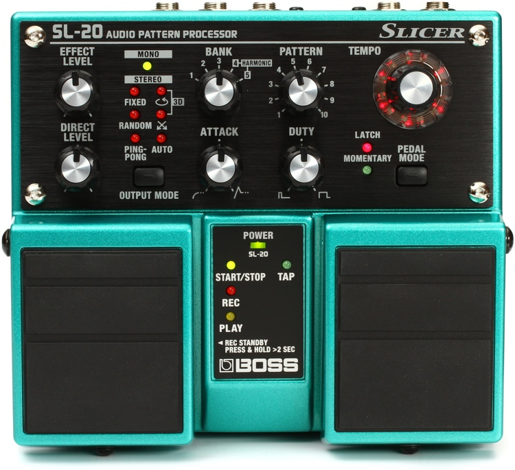 Boss SL-20 Slicer Audio Pattern Processor Pedal image 1