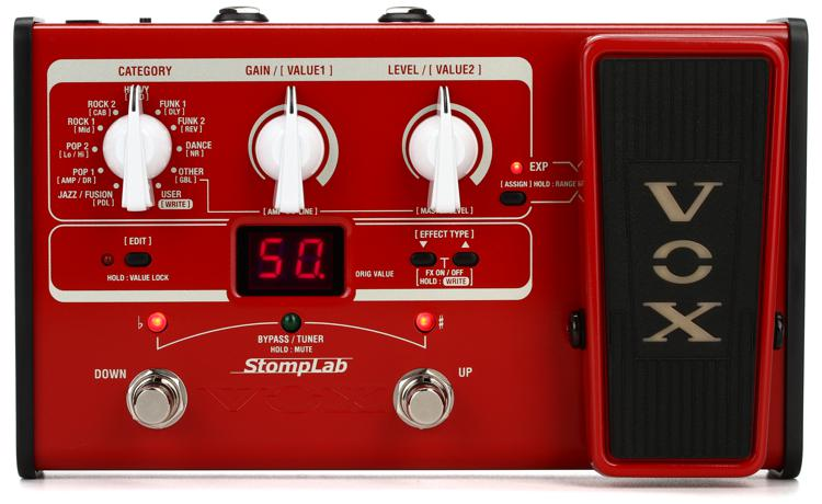 Vox StompLab 2B Bass Multi-effects Pedal image 1