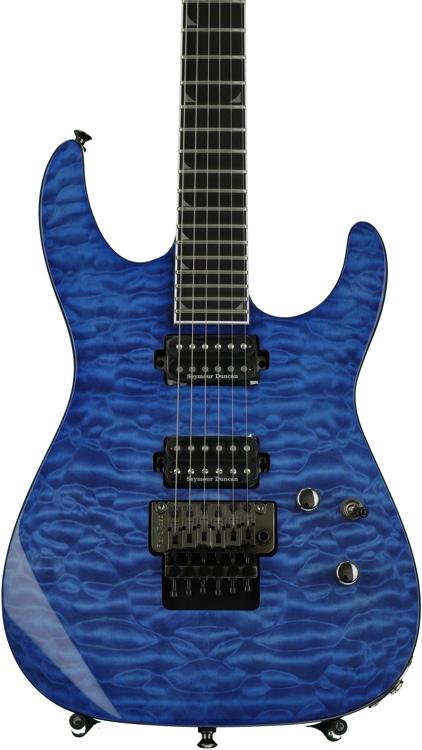 Jackson SL2Q Pro Series Soloist - Transparent Blue image 1