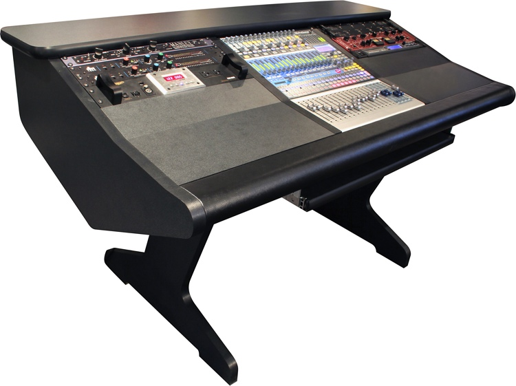 Malone Design Works StudioLive 16 Desk with Two Rack Bays image 1
