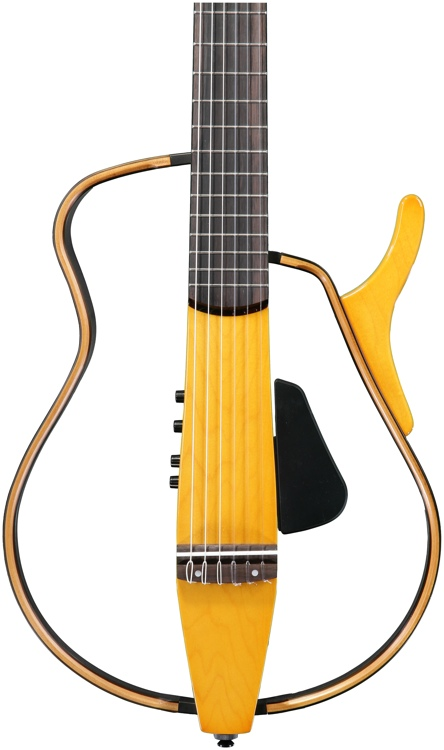 Yamaha SLG130NW Silent Guitar - Nylon String, Wood Frame image 1