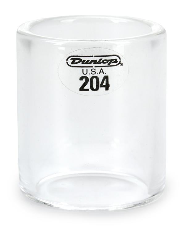 Dunlop 204 Pyrex Glass Slide - Regular Wall Thickness - Medium Knuckle image 1
