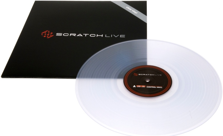 Rane Scratch Live Vinyl - Clear image 1