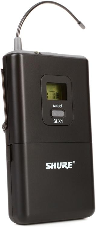 Shure SLX1 Bodypack Transmitter - G5 Band, 494 - 518 MHz image 1