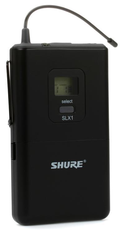 Shure SLX1 Bodypack Transmitter - J3 Band, 572 - 596 MHz image 1
