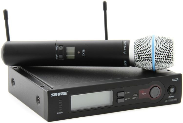Shure SLX24/Beta87A Handheld Wireless System - Beta 87A Handheld image 1