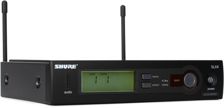 Shure SLX4 - J3 Band, 572 - 596 MHz image 1