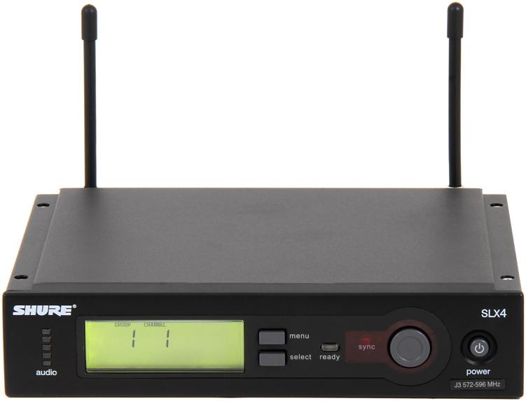 Shure SLX4 Diversity Receiver - L4 Band, 638 - 662 MHz image 1