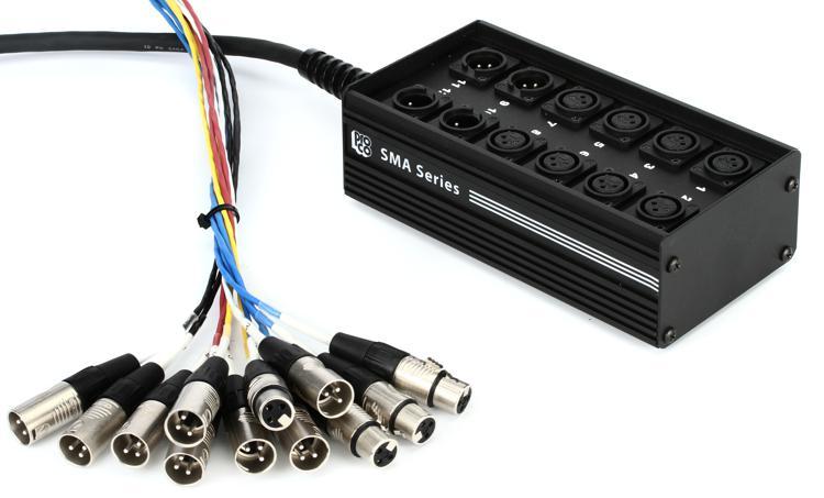 Pro Co SMA Series 8x4 Snake, XLR Returns - 50\' image 1