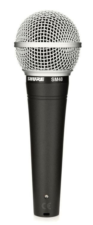 Shure SM48 Handheld Dynamic Vocal Microphone image 1