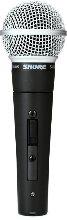 Shure SM58S Vocal Microphone with On/Off Switch image 1