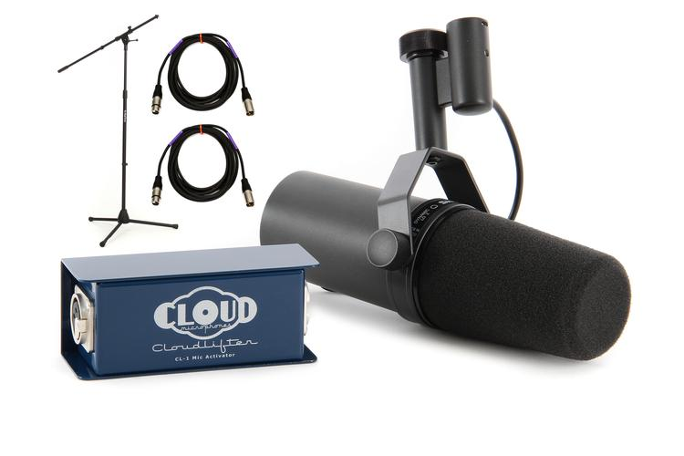 Shure SM7B with Cloudlifter CL-1 image 1