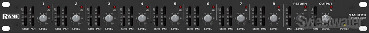 Rane SM 82S 8-Ch Stereo Line Mixer image 1
