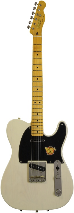 Squier Sweet-Mod Classic Vibe \'50s Telecaster - Vintage Blonde image 1