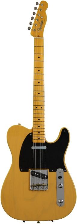 Fender Sweet-Mod American Vintage \'52 Telecaster - Am Vint \'52 Tele, Butterscotch  image 1