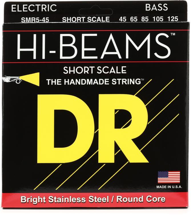 DR Strings Hi-Beam Short Scale 5-String Bass Strings - .045-.125 image 1