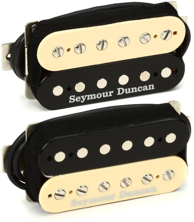 Seymour Duncan Saturday Night Special Humbucker Pickups - Zebra Set image 1