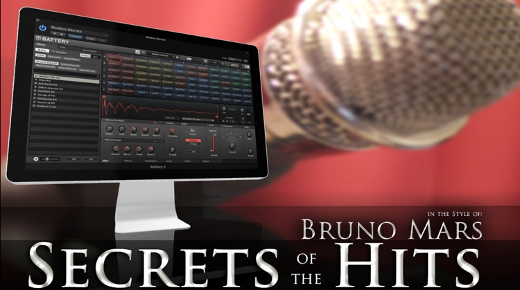 Multi Platinum Secrets of the Hits in the Style of Bruno Mars Interactive Course image 1