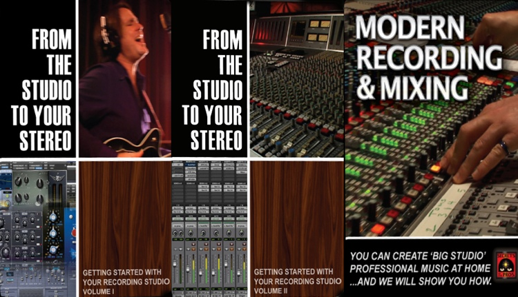 Secrets of the Pros Recording Series Bundle 2 - Volume 1, 2, & 3 Bundle image 1