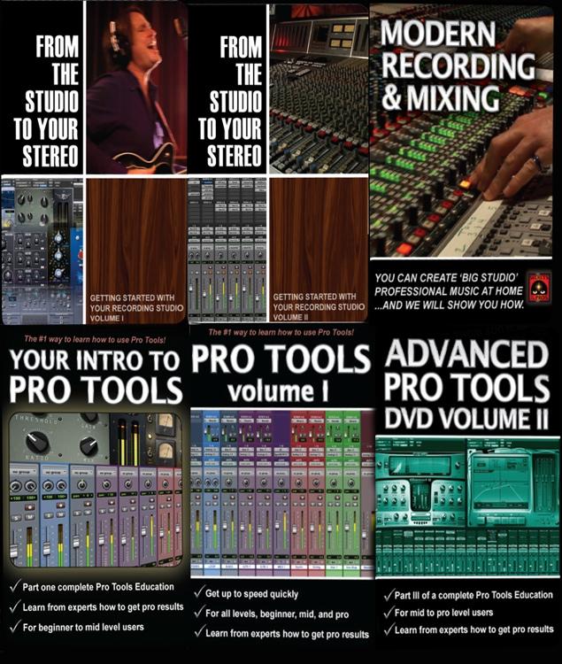 Secrets of the Pros Recording, Mixing, & Pro Tools Bundle image 1