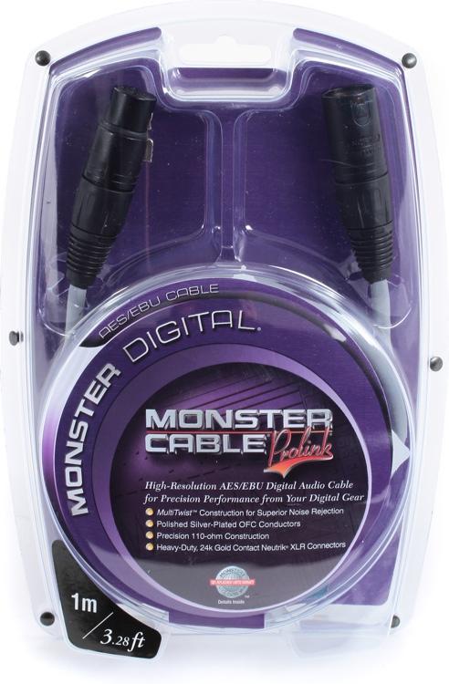 Monster Digital AES/EBU Cable - 1 Meter image 1