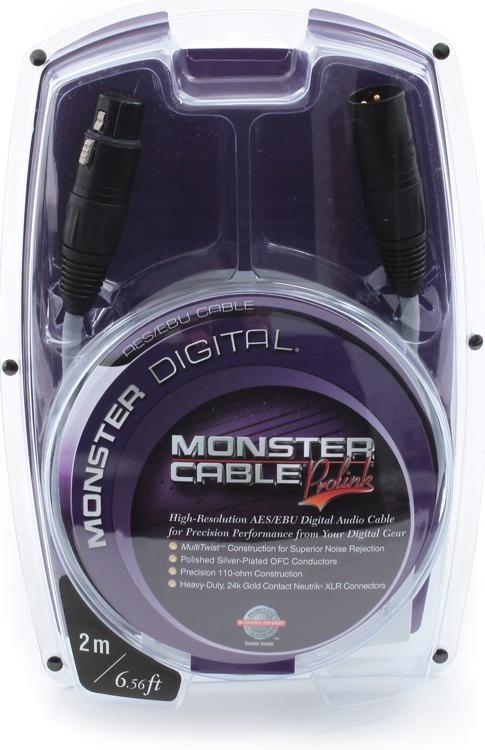 Monster Digital AES/EBU Cable - 2 Meter image 1