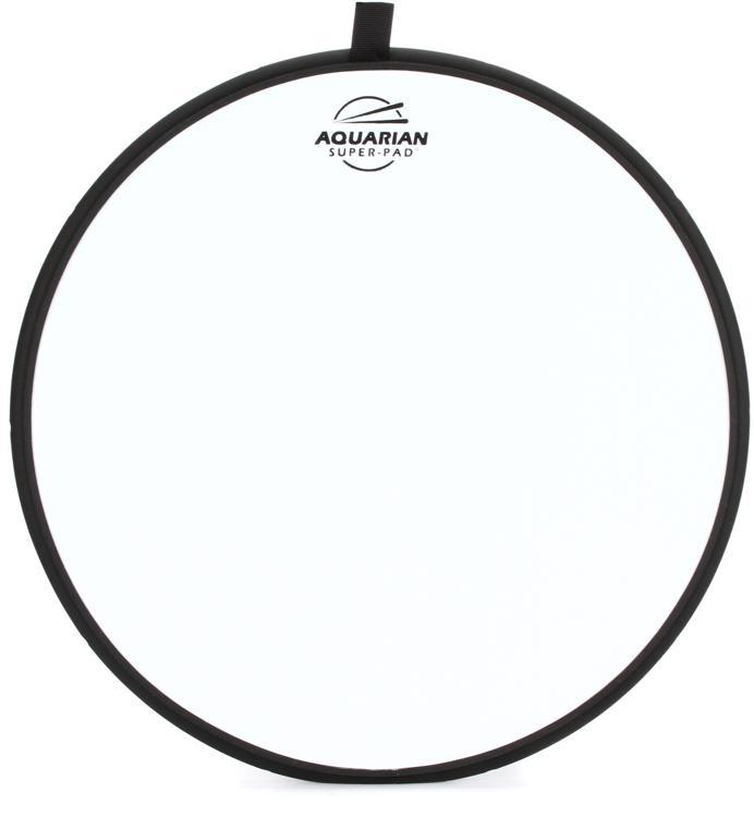 Aquarian Drumheads Super-Pad Low-volume Drum Surface - 13
