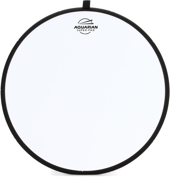 Aquarian Drumheads Super-Pad Low-volume Drum Surface - 14