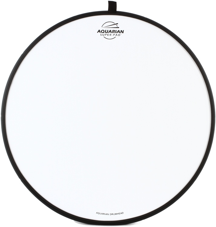 Aquarian Drumheads Super-Pad Low-volume Drum Surface - 16