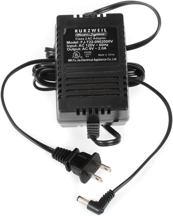 Kurzweil 9V/2000mA Power Adapter image 1