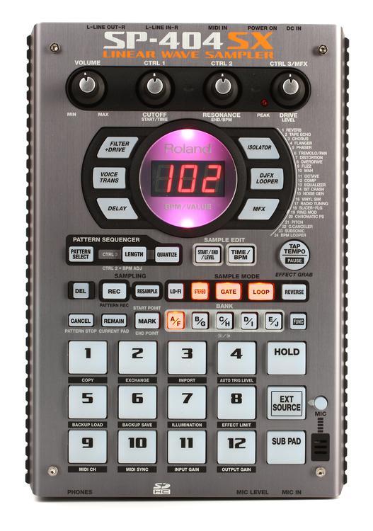Roland SP-404SX Performance Sampler image 1
